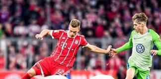 Bayern Munich no pudo vencer al Wolfsburgo en su casa, el colombiano ingreso sobre el final del partido y no fue mucha la ayuda que logro dar.