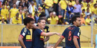 Selección Colombia, amistosos