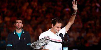 Roger Federer, tenis, abierto de australia, apuesta