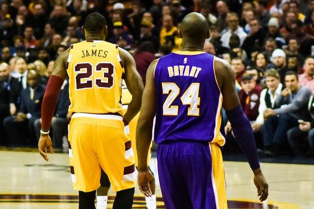 Apuestas, LeBron James, Kobe Bryant, Doradobet, Lakers