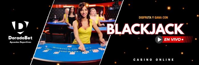 Blackjack de casinos en vivo