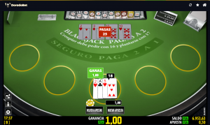 apuestas Blacjack de Casino Online