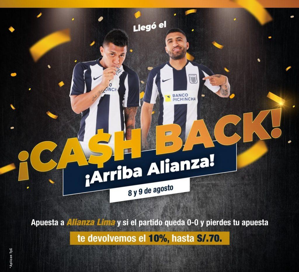 Cash Back Alianza Lima